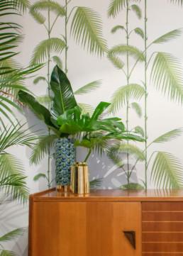 Zoom vases d'une décoration de l'entrée par Atelier Züger