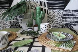 Decoration de table avec motifs par Atelier Züger